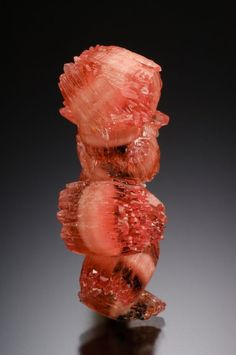 Rhodochrosite - N'Chwaning I Mine, N'Chwaning Mines, Kuruman, Kalahari manganese field, Northern Cape Province, South Africa Size: 3.2 cm