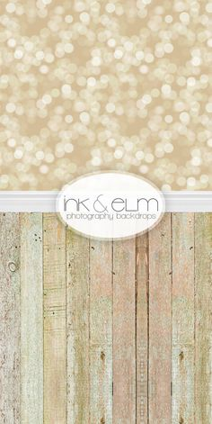 TWO in ONE Backdrop 5ft x 10.25ft Vinyl Photography by InkAndElm, $109.95
