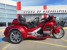 motorcycles And scooters: 2016 Honda Gold Wing 2016 Honda Goldwing Trike Gl 1800 California Sidecar Csc Hr Signature Series -> BUY IT NOW ONLY: $34985.0 on eBay!