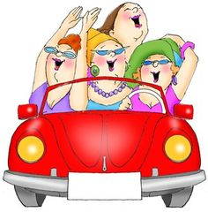 Girls Just Wanna Have Fun!! Or me and my friends heading to the quilt shop!