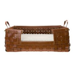 Leather Bed Tan Medium Mungo and Maud