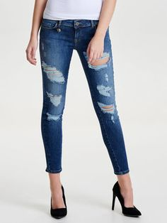 CORAL SL ANKLE SKINNY JEANS