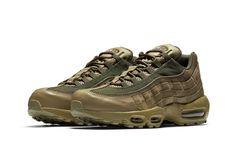 205fe2794b9 Nike Air Max 95 90 Premium Olive Khaki tonal february footwear Release Date  Info Nike Air