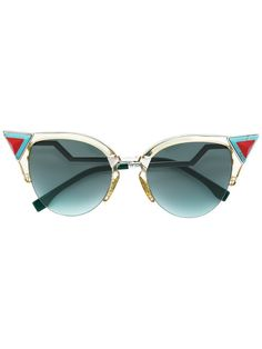 f0792732b8 Fendi Eyewear Iridia Sunglasses - Farfetch