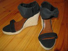 Amazing on sale Espadrilles, Wedges, Amazing, Shoes, Black, Fashion, Espadrilles Outfit, Moda, Zapatos