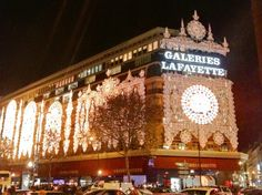 Galeries Lafayette Haussmann in Paris, Île-de-France