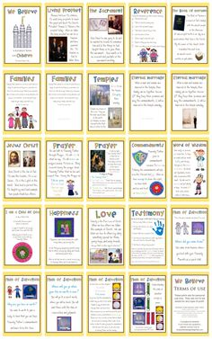 Awesome lds printables