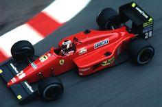 Gerhard Berger - Ferrari - Monte Carlo, 1987.