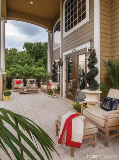 Outdoor living spaces deserve a little consideration