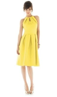 7 Bright Yellow Bridesmaids Dresses—All Less Than $150! Which Would You Wear?: Save the Date