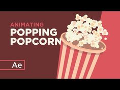 (10) How to Animate Popping Popcorn With Random Expressions - After Effects Tutorial - YouTube Pop Popcorn, After Effect Tutorial, After Effects, Motion Design, Brush Strokes, Motion Graphics, The Creator, Animation, Create
