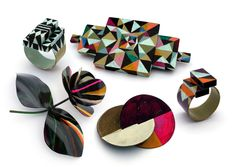 I love love love the work of jeweler Peta Kruger.