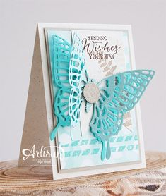Butterfly Basics stampset, Butterflies Thinlits Dies, Best Year Ever DSP - Inge Groot-