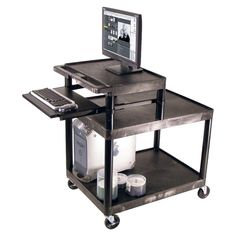 Steel Computer Table