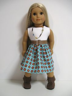 American Girl Doll ClothesSouthwest Summer by 123MULBERRYSTREET, $25.00