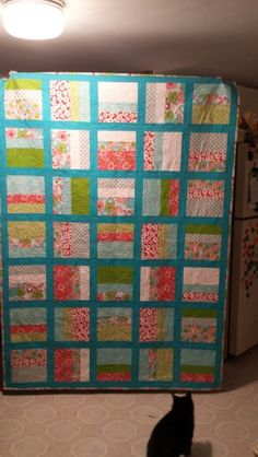 My quilt, finally!
