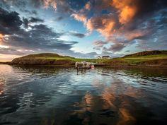 Videy Island | Visit Reykjavík, Iceland   Imagine Peace Tower + Hiking trails