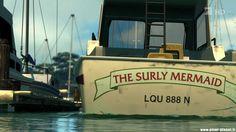 Mermaid boats names 33 best Ideas Pixar, Hunter Boats, Boat Crafts, Pool Fountain, Ski Boats, Boat Names, Black Cowboys, Boating Outfit, Animation