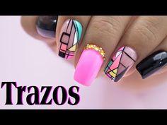 Arte y Belleza Vicky - YouTube Nail Manicure, Pedicure, Nails, Nail Designs, Nail Art, Beauty, Beautiful, Youtube, 3d