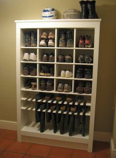 Enough room for him, and I like the boot storage. Must keep this one in mine for. Enough room for him, and I like the boot storage. Must keep this one in mine for remodel of closet. Now where do I put my shoes.