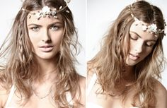 bohemian wedding hairstyle 2012 ideas