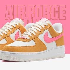 RELEASE 💌💗 Deze Nike Air Force 1 '07 'Twine' is perfect is voor de herfst. Overlays van zachte suède zorgen voor textuur en worden gecombineerd met roze accenten om het iconische design te benadrukken. 🔗 Check the shopping link in our bio! Air Force 1, Nike Air Force, Air Force Sneakers, Sneakers Nike, Om, Link, Design, Nike Tennis