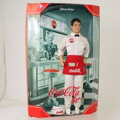 Mattel - Barbie Doll - 1999 Coca-Cola Ken Doll *NM*