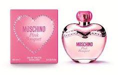 Pink Bouquet Moschino! tengo la miniatura, demasiado ricoo! dulce y fresco, lo ando buscando para comprarlo en grande! hermosa presentación <3