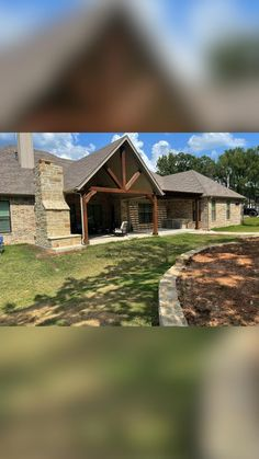 Landscaping Company, Cabin, Arbors, Landscape, House Styles, Home Decor, Courtyards, Scenery, Decoration Home