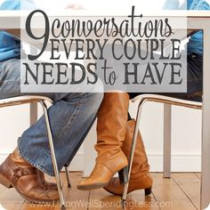 9 Conversations Every Couple Needs to Have