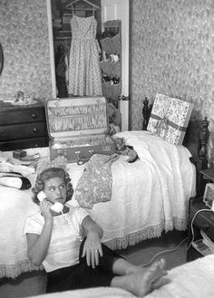 Overnight Cases, Chenille Bedspreads, and no cell phones