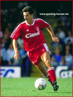 Ian Rush, one of the greatest centre forward's that ever played