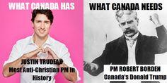 Robert Borden was Prime Minister 1911-20. #canada #altright #conservative #trudeau