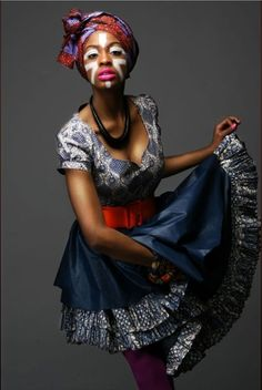 Afro-Chique is a clothing and accessories brand that combines the cultural identity of African prints with the stylish influence of contemporary London. The Creative Director, Janice Morrison, creates each collection with close attention to detail,resulting in unique designs.