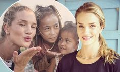"""""""From the catwalk to Cambodia: Rosie Huntington-Whiteley visits children in Phnom Penh's slums with UNICEF""""    English supermodel Rosie Huntington-Whiteley has swapped the world of high fashion for the slums of Cambodia on a trip with children's charity UNICEF. The 26-year-old traveled to Phnom Penh to see first-hand the daily plight of children struggling to survive. She arrived in Cambodia's capital on Wednesday to film an appeal, which will be screened on Britain's ITV's Soccer Aid on…"""