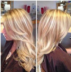 Beautiful Blond Balayage; by Jessica Hanley at Koda Salon, La Jolla