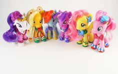My Little Pony Friendship is Magic custom Grand Galloping Gala set... I want it!!!