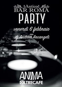 Venerdì 6 Febbraio Bar Roma party @ Oltrecafè ! Vi aspettiamo tutti al nostro tavolo! Altrimenti lista aperta Bar Roma!  Per info: Chià: 3495424398  Davo:3485182540