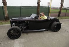 What car should you drive to spring training?  I think Roy has got the right idea.