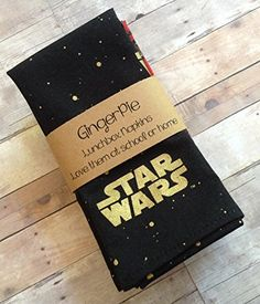 #luxe #designinspo Love your favorite Sci Fi show at meal time. Choose from #Star War, Star Trek, or a combination of both Set of 6 to a package: Star Trek is 2 ...