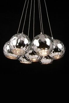 Chrome Pendant Ceiling Lamp - Chrome by Modern and Eclectic: Unique Furniture & More on @HauteLook