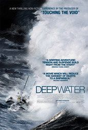 Deep Water, a fascinating and sad documentary about the disastrous 1968 round-the-world yacht race. Narrated by Tilda Swinton