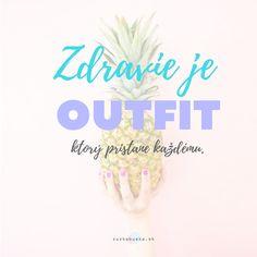 Zdravie je outfit, ktorý pristane každému. Calm, Outfit, Artwork, Outfits, Work Of Art, Auguste Rodin Artwork, Artworks, Kleding, Clothes