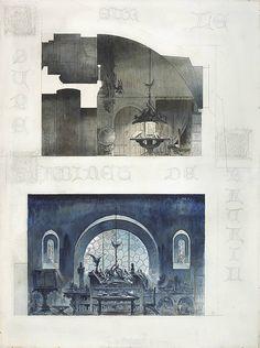 Salom dansant devant h rode de gustave moreau entre 1874 - Cabinet d architecture d interieur paris ...