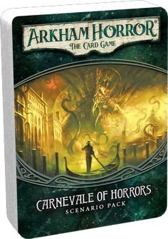 Fantasy Flight Games - Arkham Horror- The Card Game: Carnevale of Horrors #FFGAHC10 [841333102982]