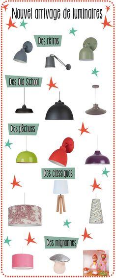 La Folle Adresse lampes suspensions luminaires