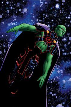 y ni siquiera el poder de J'onn J'onzz puede ser capaz de ahorrar las personas de dos mundos de la aniquilación.
