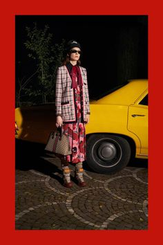 Gucci Pre-Fall 2018 Fashion Show Collection: See the complete Gucci Pre-Fall 2018 collection. Look 79