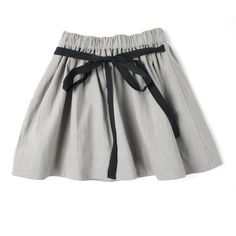 April Showers, Gemma skirt in stone grey