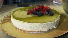 Groene thee cheesecake - recept | 24Kitchen
